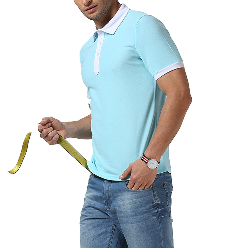 Men Short Sleeved Polo Shirt - Emporio Magno