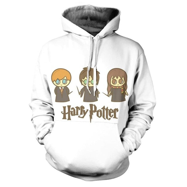 Autumn Harry Potter 3d Print Hoodie  Sweatshirt - Emporio Magno
