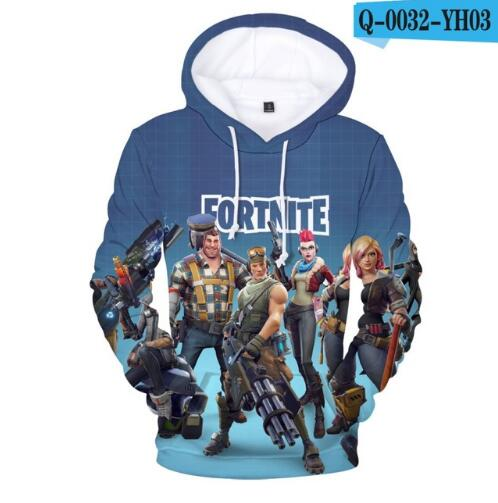 Fortnite 3D Hoodies Men Women Sweatshirt - Emporio Magno