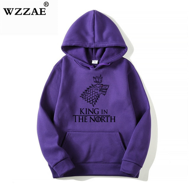 Game of Thrones Wolf hoodies Poleron Hombre Fashion Streetwear Cotton Sweatshirt Pullover Men women Hoodie Sweat mens Hoodies - Emporio Magno