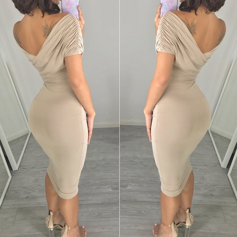 Summer Hot Women Casual Dress Elegant Fashion Women Loose Dress Feminino Lady Slim Dress - Emporio Magno