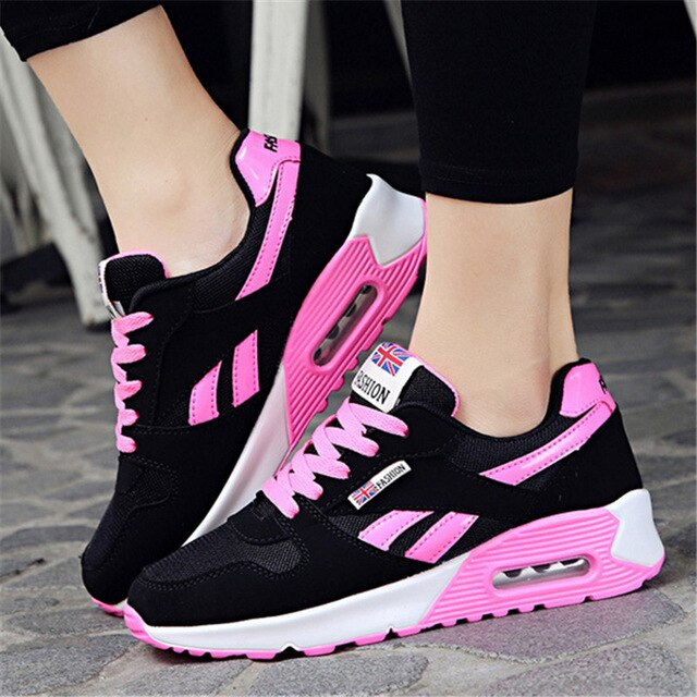 Sport Shoes Woman Air Cushion Running Shoes For Women Outdoor Summer Sneakers Women Walking Jogging Trainers - Emporio Magno