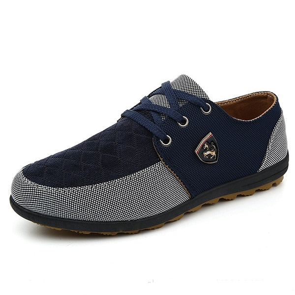 Men's shoes Spring Autumn Collection Men Shoes Casual Fashion canvas shoes - Emporio Magno