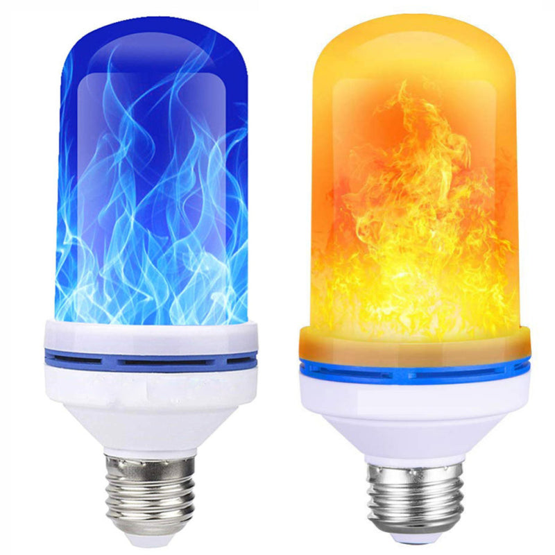 LED Flame Light Christmas Atmosphere Flame Light Bulb Four Gear With Gravity Induction - Emporio Magno