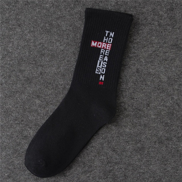 Cotton Hip Hop Socks Stockings Men's Socks - Emporio Magno