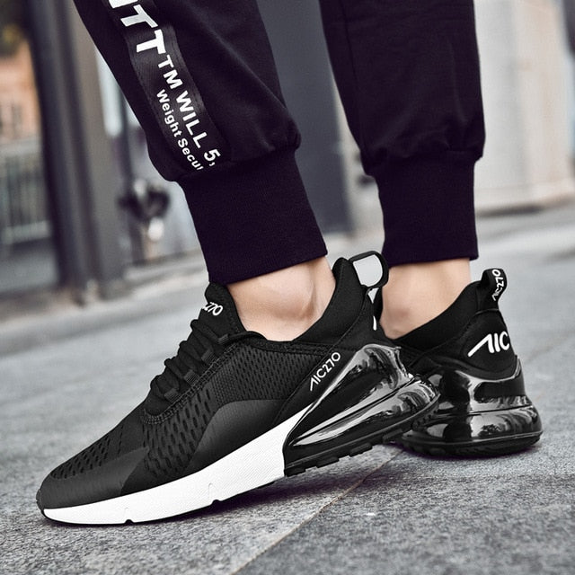 Men Running Shoes Breathable Women Trainer Sneakers Zapatillas Hombre Deportiva 270 Air Cushion Sport Shoes - Emporio Magno