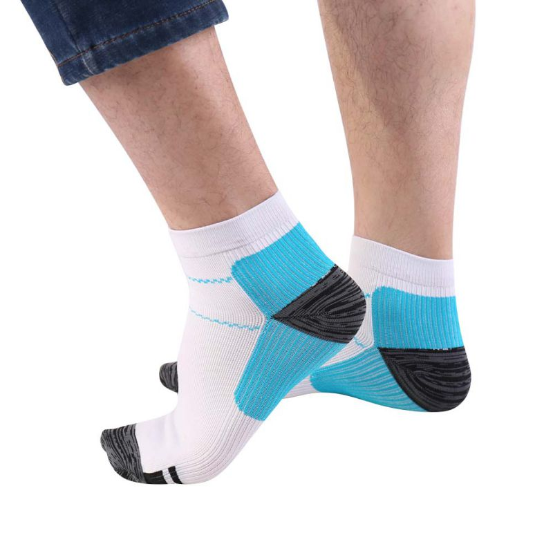 1 Pair High Quality Foot Compression Socks For Plantar Fasciitis Heel Spurs Arch Pain Comfortable Socks Venous Sock - Emporio Magno