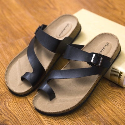 Slippers Flip Flops Summer Beach Cork Shoes Slides Girls Flats Sandals Casual Shoes - Emporio Magno
