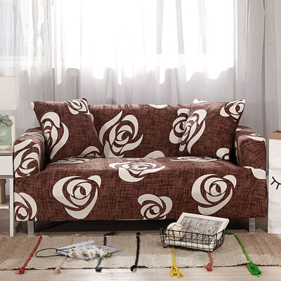 Slipcovers Sofa tight wrap all-inclusive slip-resistant sectional elastic full sofa Cover/towel Single/Two/Three/Four-seater - Emporio Magno