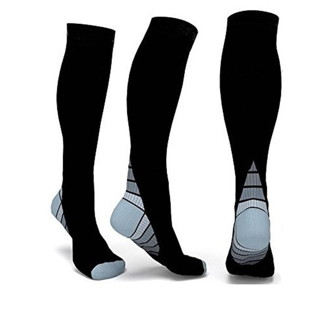 Men Women Compression Socks Fit for long Socks Boost socks men super quality three color - Emporio Magno