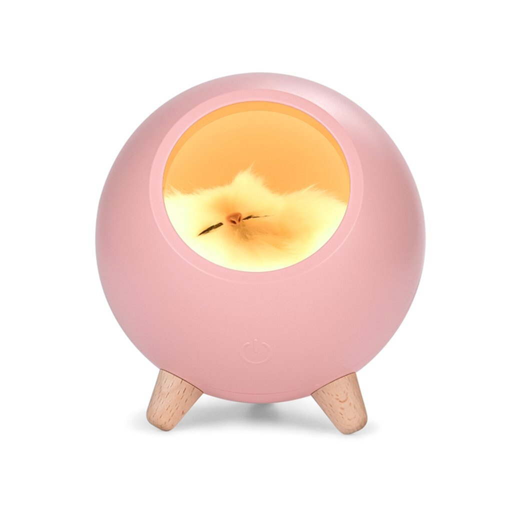 1200mAh Touch Adjustable LED Night Table Light USB Rechargeable Small Pet House Atmosphere Lamp for Baby Lover Gift - Emporio Magno
