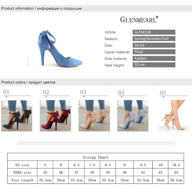 Women High Heels Brand Pumps Women Shoes Pointed Toe Buckle Strap Butterfly Summer Sexy Party Shoes Wedding Shoes - Emporio Magno