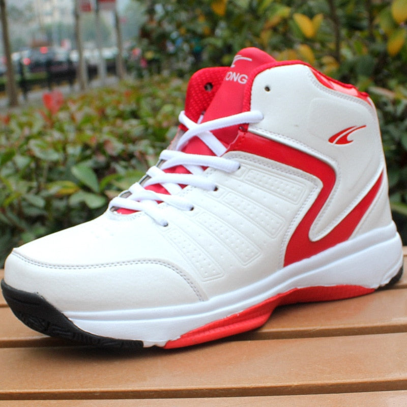 Men High top Basketball Shoes Men's Cushioning Light Basketball Sneakers Breathable Athletic Shoes Outdoor Sport Sneakers - Emporio Magno