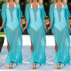 Women Sexy Bikini Dress Beach Tunic Pareos Swimwear Women Chiffon Bikini Swimsuit Swimwear Beach Dress Bathing Suit - Emporio Magno