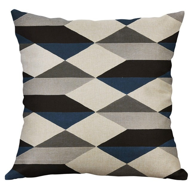 Nordic Style pillow cover Decorative Fashion Irregular Geometric Pattern Pillow Case for home ornments Cushion Cover gift - Emporio Magno