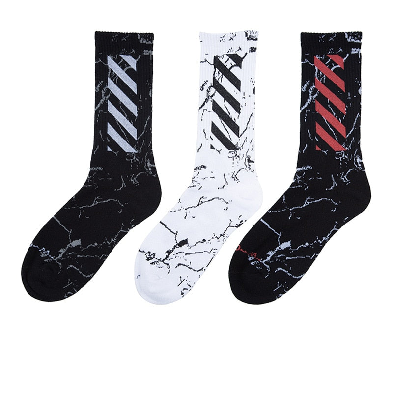 Harajuku Men's Socks Crew Cotton hip hop Cool Funny Skate Socks personality Casual Men Fashion socks - Emporio Magno