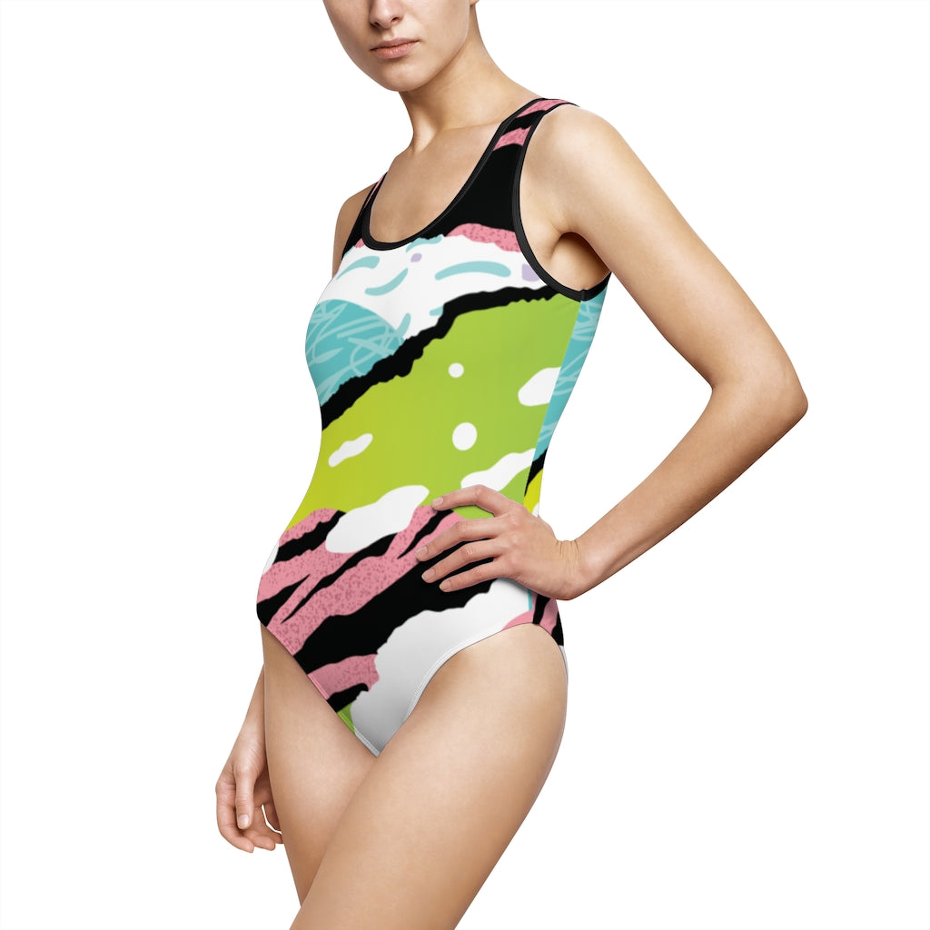 Women's Classic One-Piece Swimsuit - Emporio Magno