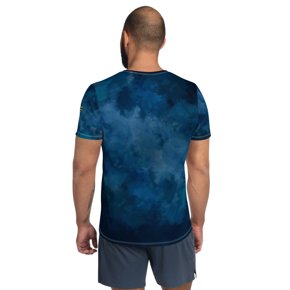 All-Over Print Men's Athletic T-shirt - Emporio Magno