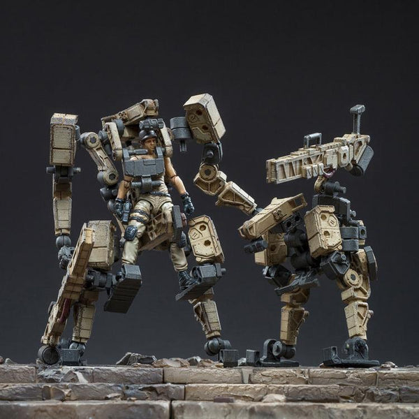 3pcs/set Action Figures Mecha Figures