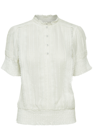 Delicate Short Sleeve Blouse