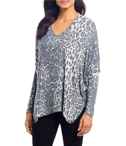 Animal Print Sweater 10/9793N