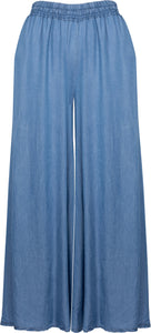 Wide Leg Woven Pant with Pockets