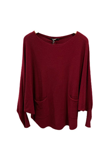 Batwing Sweater with Back Stitching 33/7875L