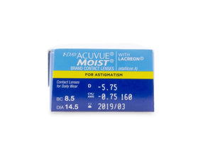 1 Day Acuvue Moist for Astigmatism 30 Pack