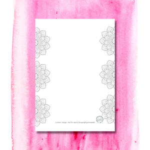 THE BOHO JOURNAL PAGE CREATIVE - INSTANT ACCESS PDF DOWNLOAD
