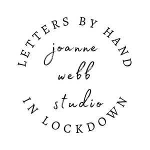 5 X A4 PRINTABLES - LETTERS BY HAND IN LOCKDOWN - FOLK