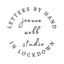 Load image into Gallery viewer, 5 X A4 PRINTABLES - LETTERS BY HAND IN LOCKDOWN - POLKA