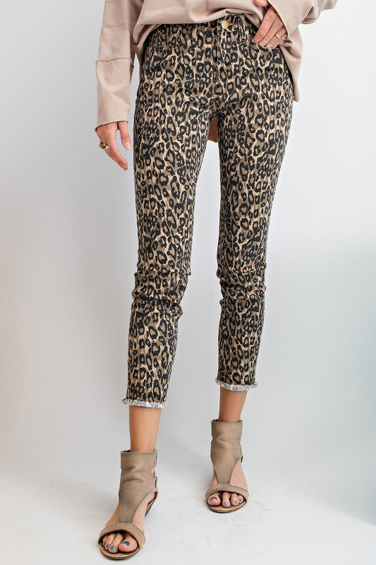 Animal Printed Comfy Stretch Pants