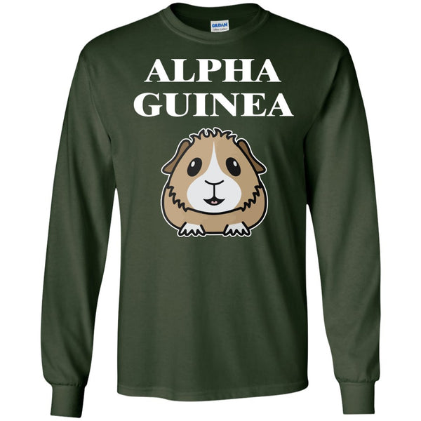 Alpha Guinea Pig  LS Ultra Cotton Tshirt
