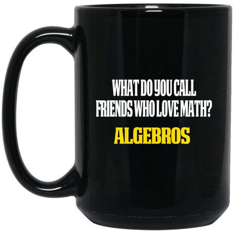 Funny Math Gifts - Math Teacher Gift Math Friends Large Black Mug