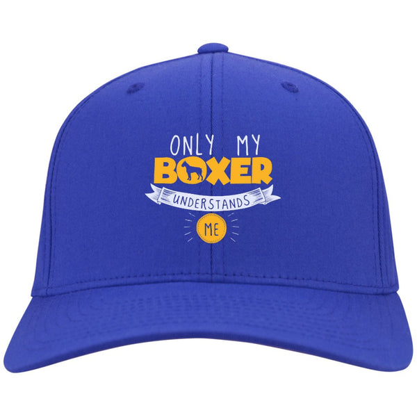 Boxer - Only My Boxer Understands Me - Dry Zone Nylon Cap (Embroidered)