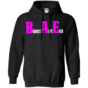 Funny Aunt T Shirt Baddest Aunt Ever Hoodie