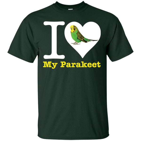 I Love My Parakeet