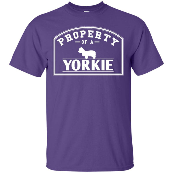 Yorkshire Terrier - Property Of A Yorkshire Terrier - Custom Ultra Cotton T-Shirt