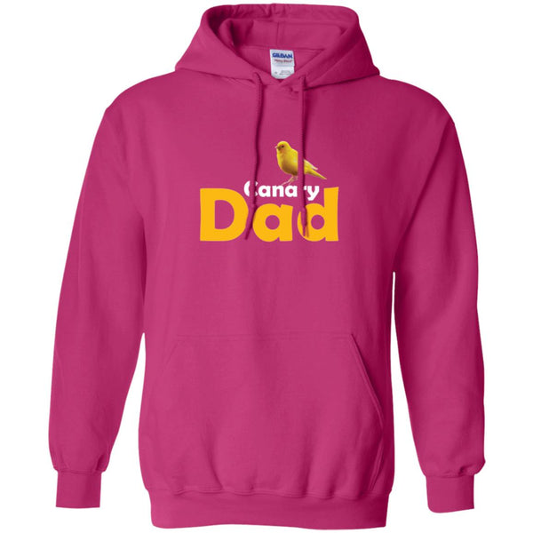 Canary Dad Gift Hoodie