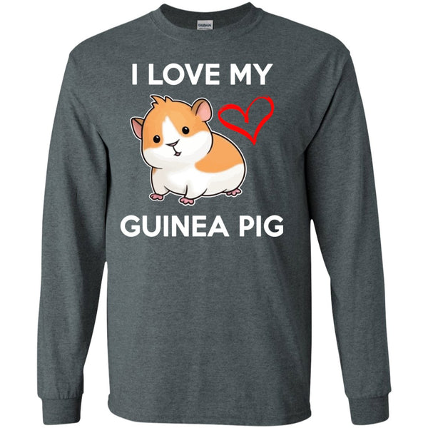 I Love My Guinea Pig  LS Ultra Cotton Tshirt