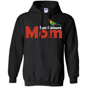 Sun Conure Mom - Awesome Sun Conure Lover Shirt  Pullover Hoodie 8 oz