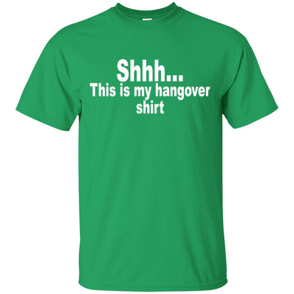 Funny Drinking Shirt - This is my hangover shirt T-Shirt