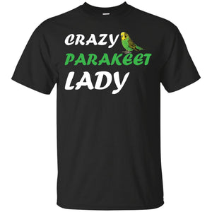Crazy Parakeet Lady
