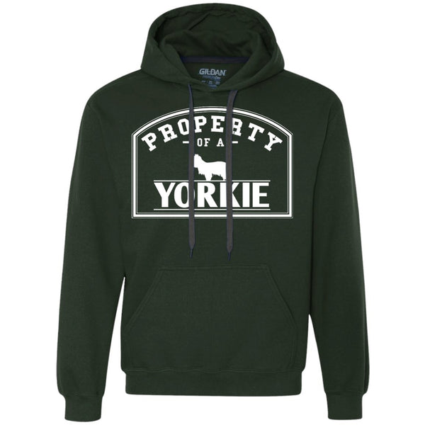 Yorkshire Terrier - Property Of A Yorkshire Terrier - Heavyweight Pullover Fleece Sweatshirt