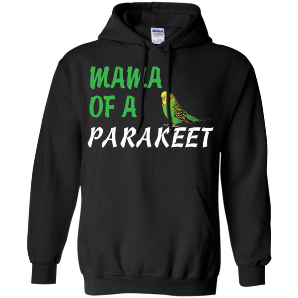 Mama of a  Parakeet  Pullover Hoodie 8 oz