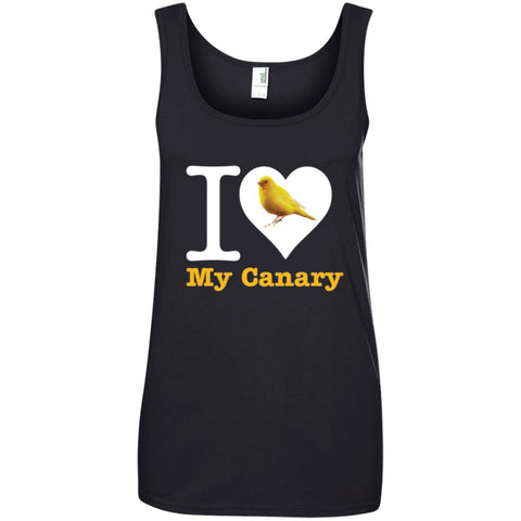 I love My canary Ladies Tank Top
