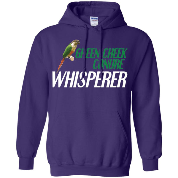 Green Cheek Conure Whisperer - Funny Shirt  Pullover Hoodie 8 oz