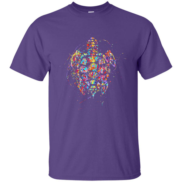 Beautiful Painted Turtle Gift T-Shirt