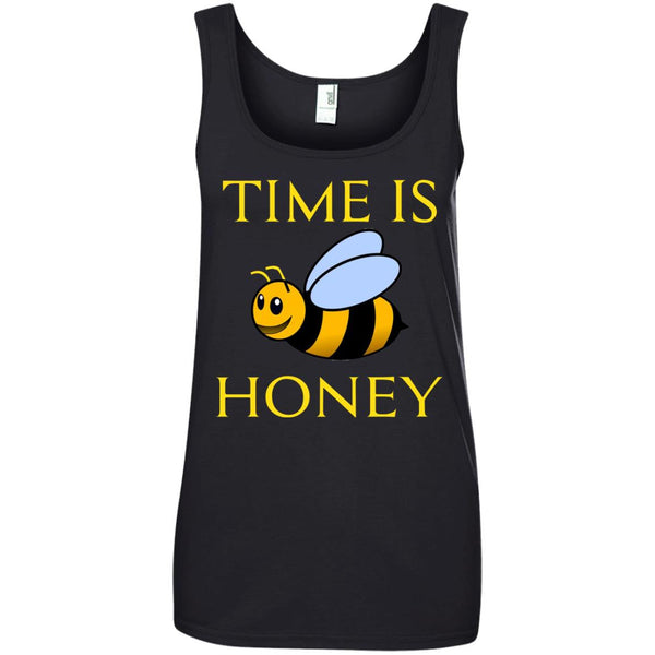 Funny Beekeeping Gift - Time is honey Ladies Tank Top