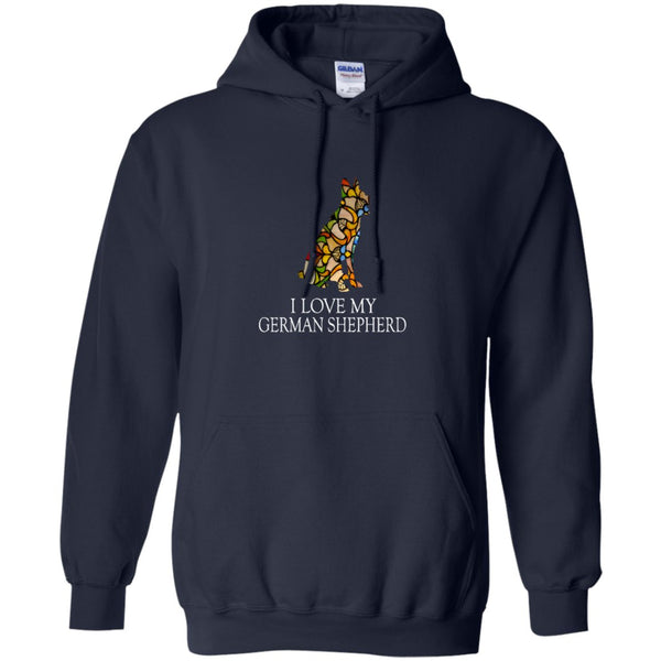 Beautiful German Shepherd T Shirt - Love my GSD.png